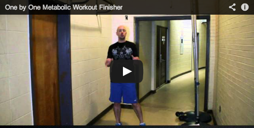 Weird 5-minute finisher (video)