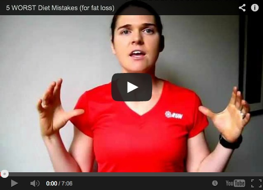 5 WORST Diet Mistakes (for fat loss)