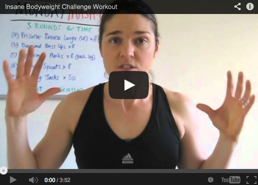 Insane Bodyweight Workout Challenge