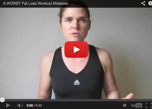 5 Worst Fat Loss Workout Mistakes