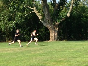 outdoor sprints
