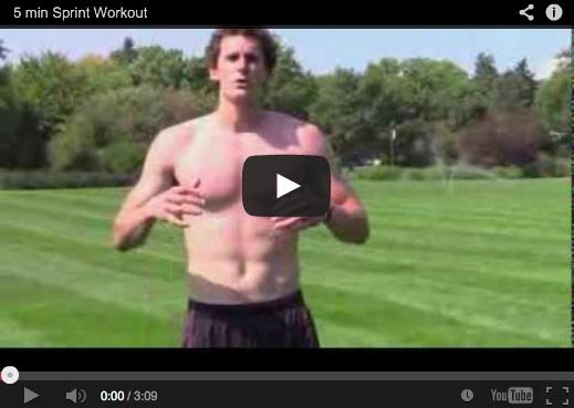 5 min Sprint Workout