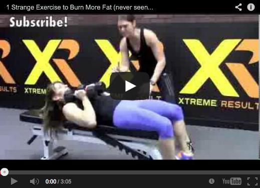 1 Strange Exercise to Burn More Fat