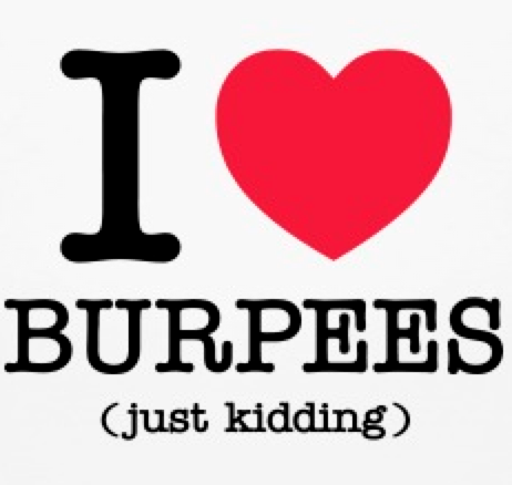 4 mistakes with burpees
