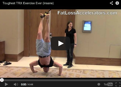 Toughest TRX Exercise EVER (insane)