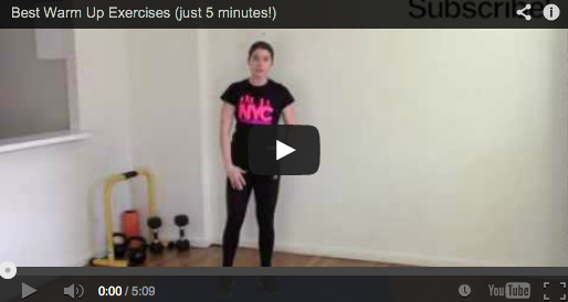 Best Warm Up Exercises (just 5 minutes)