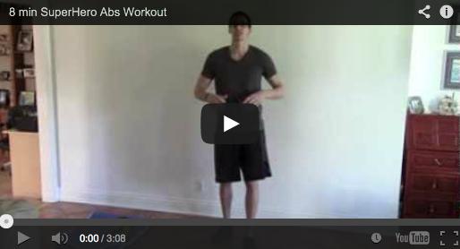 8 min Ab Workout