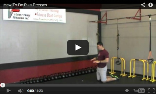 How To Do Pike Presses