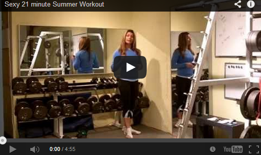 Sexy 21 minute Summer Workout