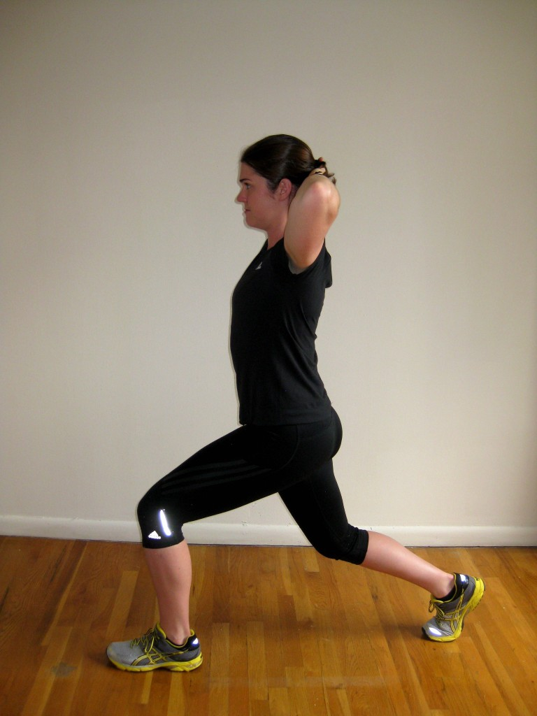 Lunge Exercise Progressions