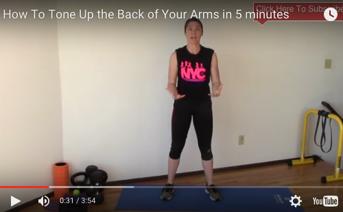 How To Tone Up The Back of Your Arms