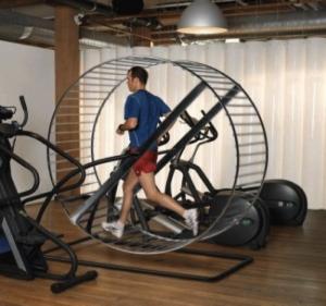 Treadmill-Hamster